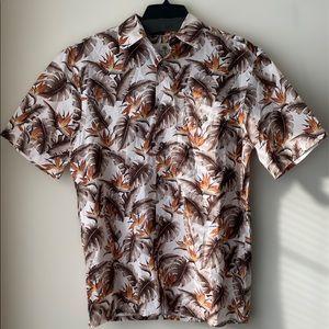 Island Shores NWT Mens Button down shirt size S